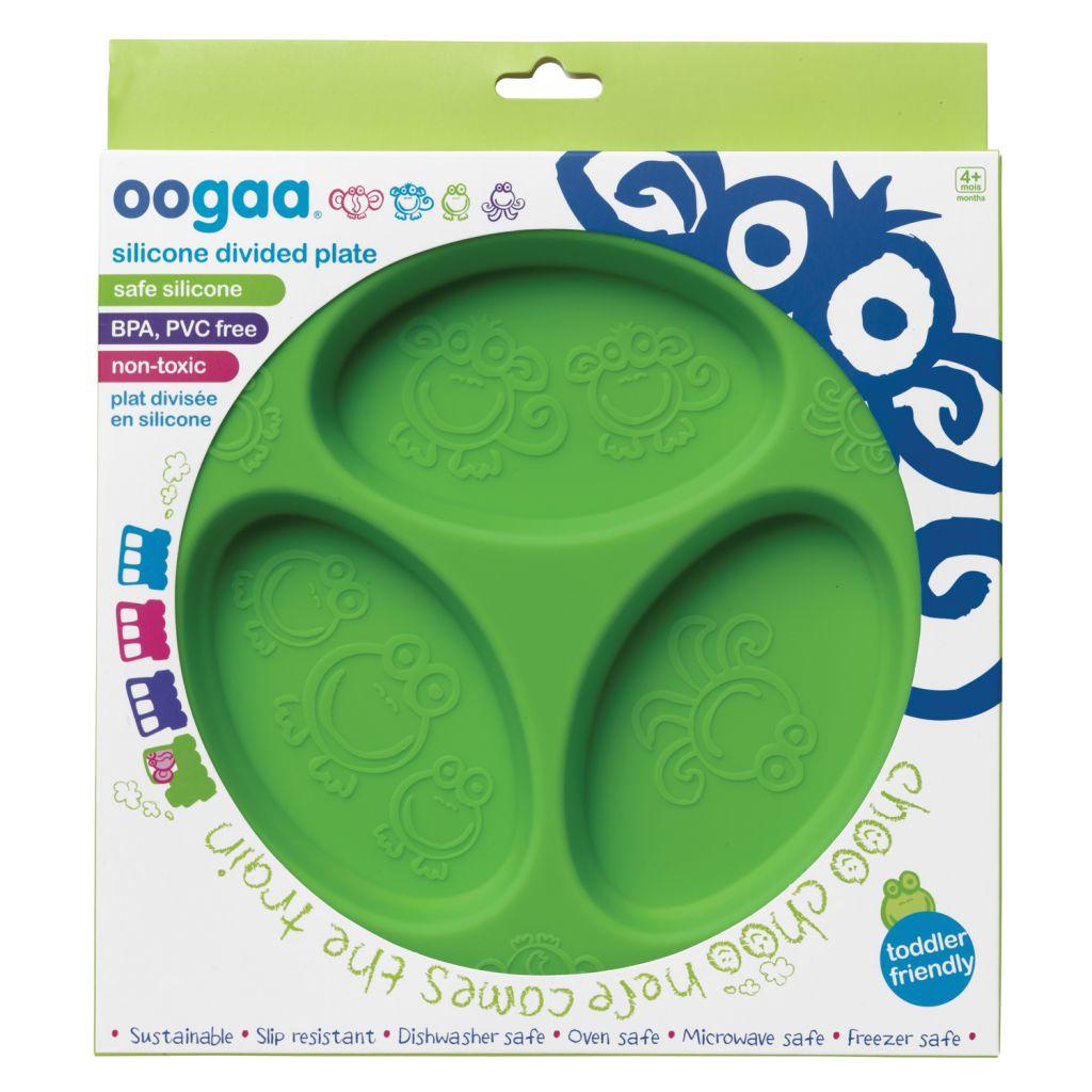 Assiette à Compartiments Silicone Oogaa