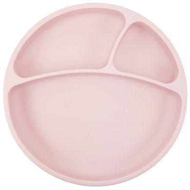Assiette Anti-Dérapante Silicone Rose Minikoioi