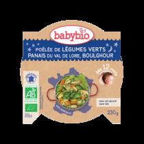 Assiette bonne nuit Légumes Verts Boulghour 230g 12M