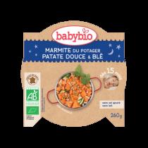Assiette bonne nuit Marmite du Potager 260g 15M