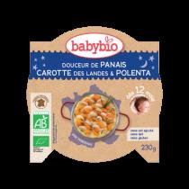 Assiette bonne nuit Panais Carotte Polenta 230g 12M