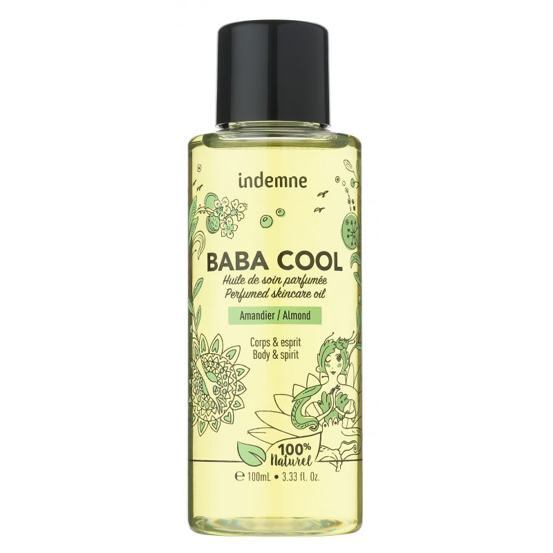 Baba Cool Amandier Huile de soin 100ml Indemne