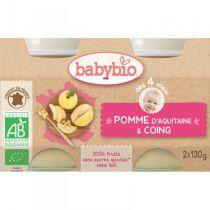 Baby Jars Apple Vanilla Organic 2 X 130G Babybio