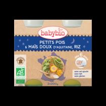 Baby Jars Evening Meal Carrot Quinoa Organic 2X200G Babybio