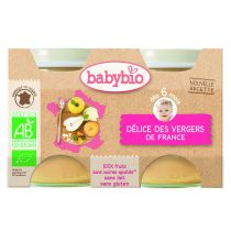 Baby Jars Fruit Cocktail Organic 2 X 130G Babybio
