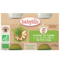 Baby Jars Garden Vegetables Organic 2 X 130G Babybio