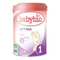 Baby Milk Optima 1 Bio 0-6 Months 900G Babybio