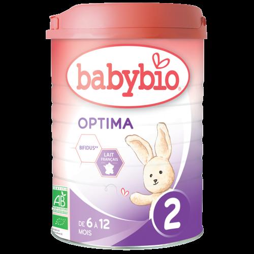 Baby Milk Optima 2 Bio 6-12 Months 900G Babybio