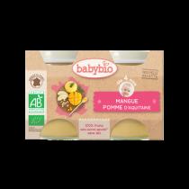 Baby Potjes Appel Mango Bio 2X130G Babybio