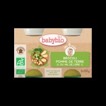 Baby Potjes Wortel Broccoli Bio 2X130G Babybio