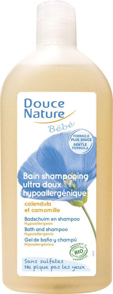 Bain Shampooing Bébé 300ml Bio Douce Nature
