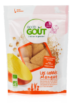 Banana squares 50g from 8 months Good Gout