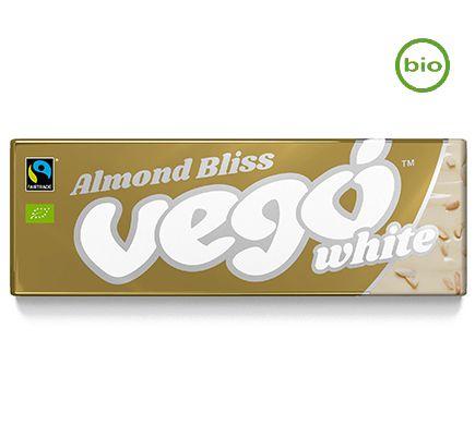 Barre Chocolat Bland Noisettes 50g Vego