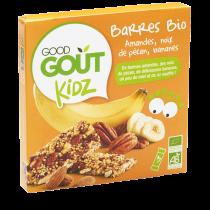 Barres Amande Pecan Banane 60g Good Gout