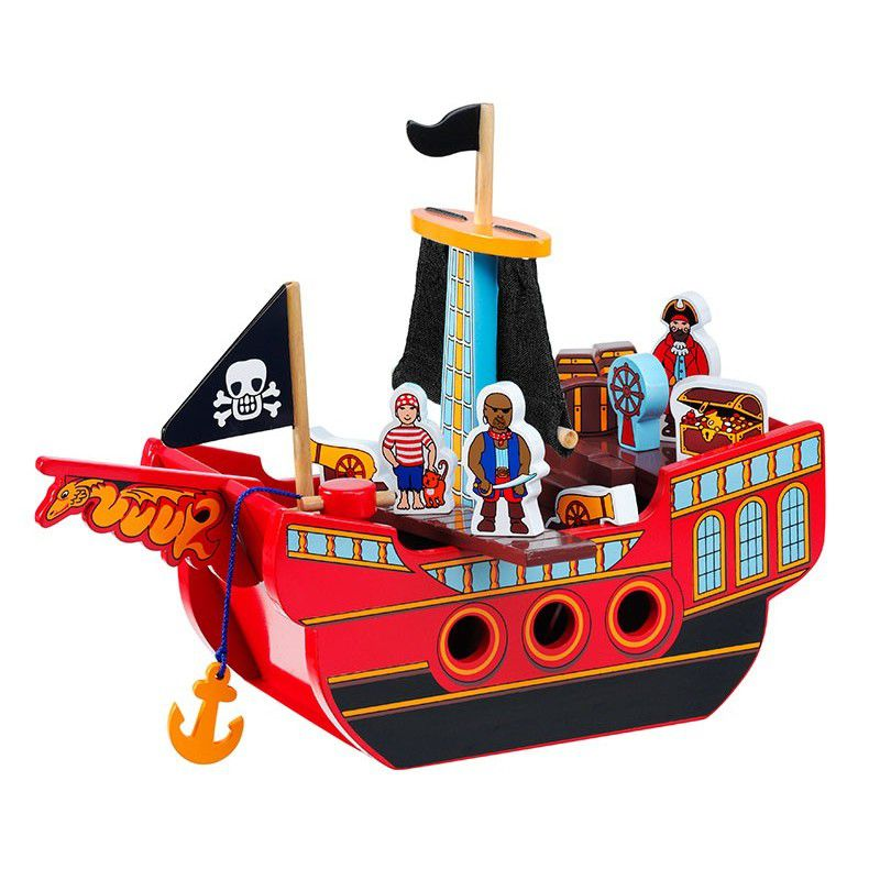 Bateau Pirate 15 pièces Lanka Kade