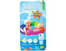 Bath Nappies T4 8-15Kg 12 Pieces Tidoo Swim & Play