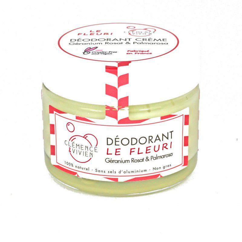 Baume Déodorant Le Fleuri Geranium Palmarosa Lavande