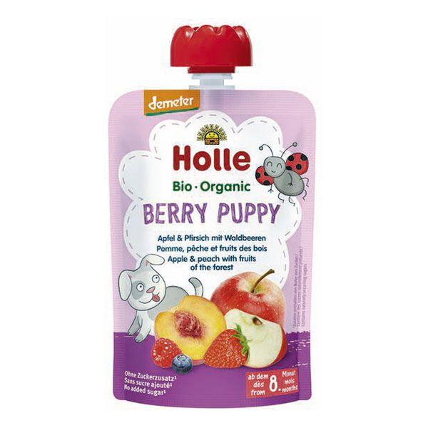 Berry Puppy Gourde pomme pêche fruits des bois Holle