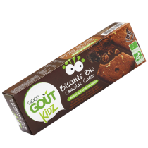 Biscuits Chocolat Cacao 110g Good Gout