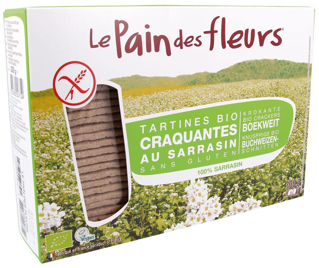 Boekweit Crackers Bio 300G Pain Des Fleurs