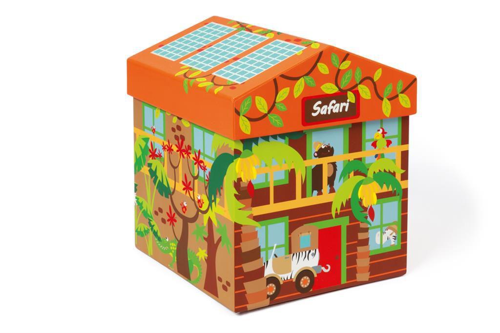 Boîte à jouet Safari Scratch