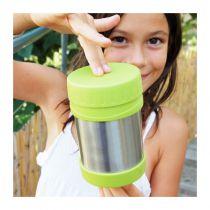 Boîte Repas Isotherme Inox Lime 355ml U-Konserve