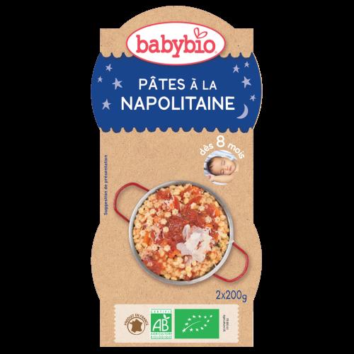 Bols bonne nuit Pâtes Napolitaine parmesan 2x200g 8M