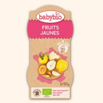 Bols Fruits jaunes 2x120g 4M