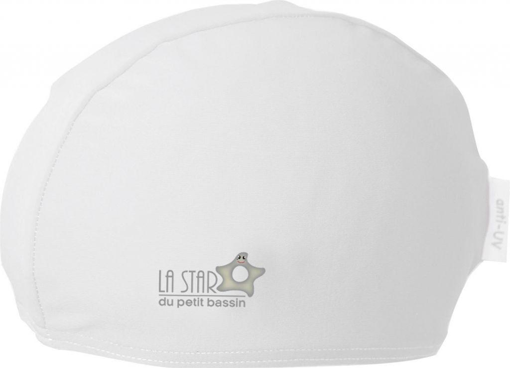 Bonnet de Bain Blanc Taille Unique Mayoparasol