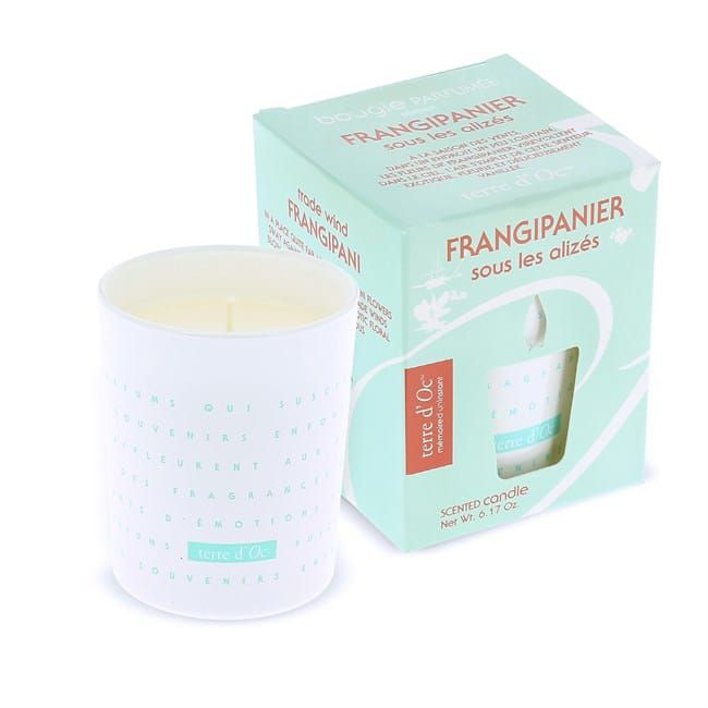 Bougie Parfumée Frangipanier Sous Les Alizés
