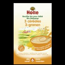 Bouillie 3 Céréales Bio dès 6 mois 250g Holle
