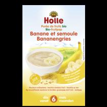 Bouillie Banane Semoule Bio dès 6 mois 250g Holle
