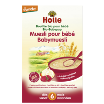 Bouillie Muesli Bio Demeter dès 6 mois 250g Holle