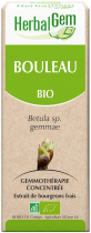 Bouleau Herbalgem Macerat Concentre De Bourgeons Bio 50Ml