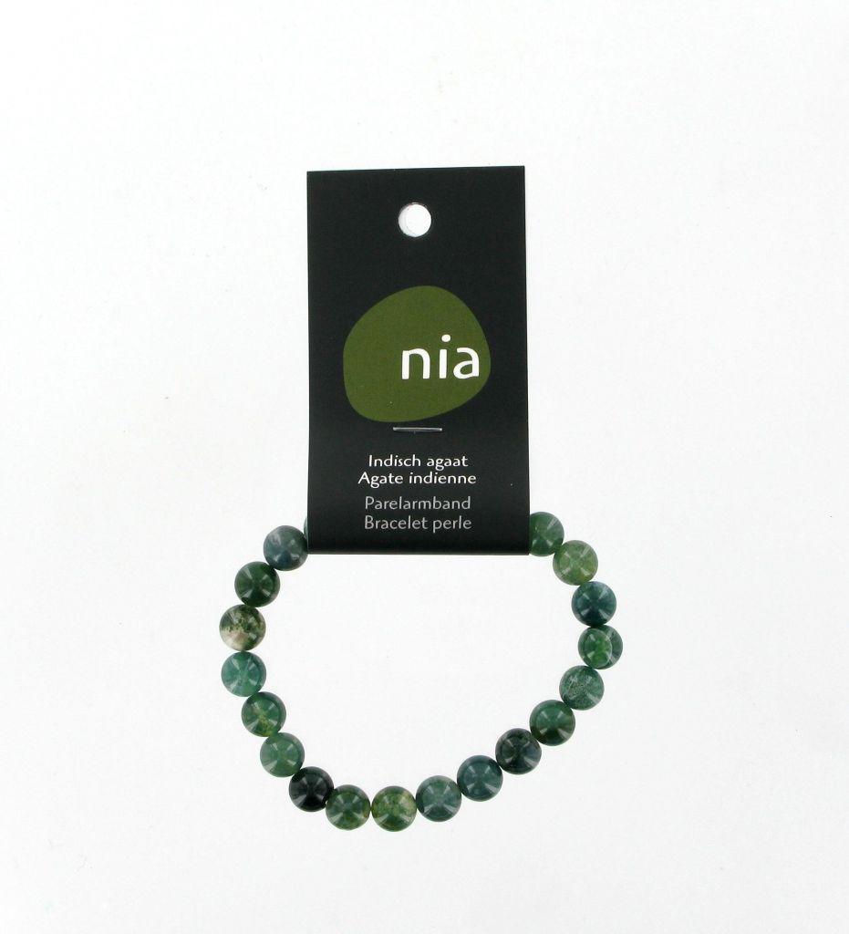 Bracelet Perle Agate Indienne