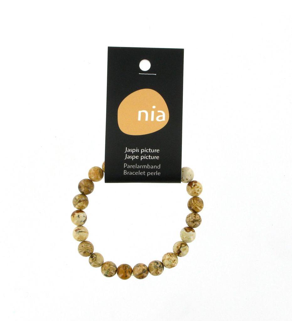 Bracelet Perle Jaspe Image
