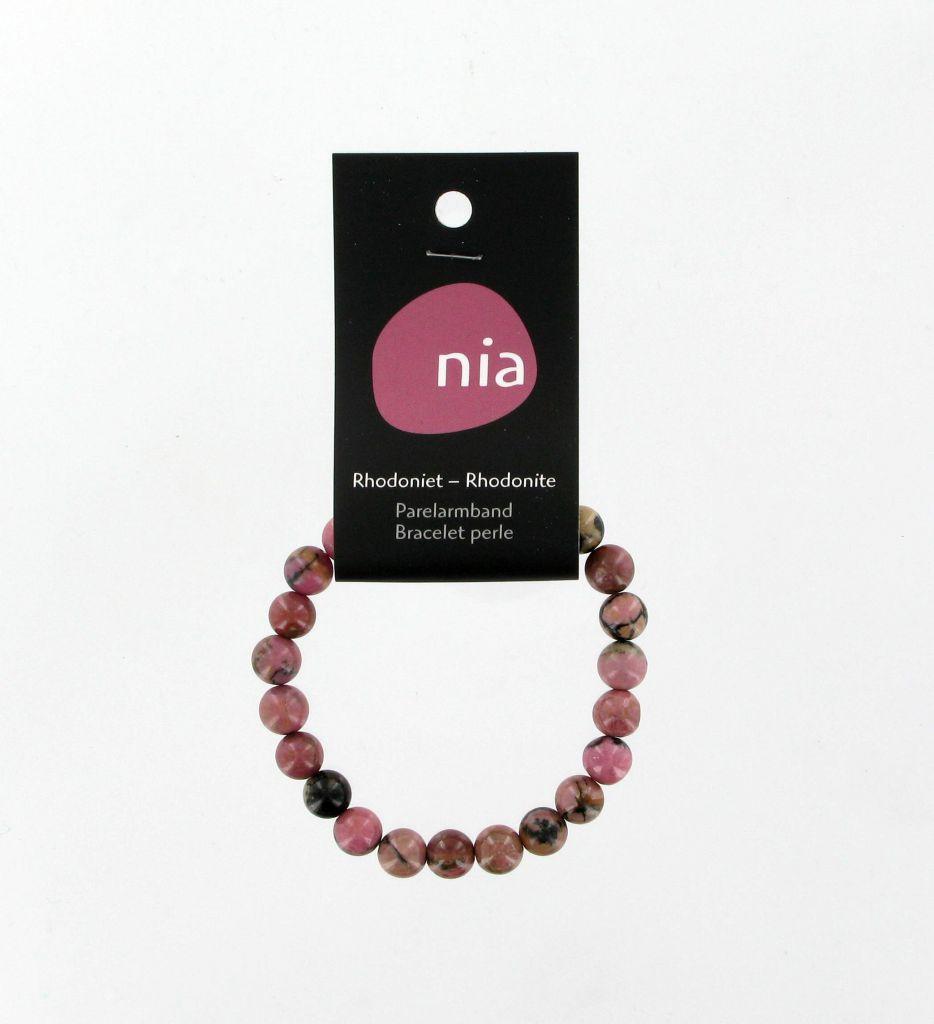 Bracelet Perle Rhodonite