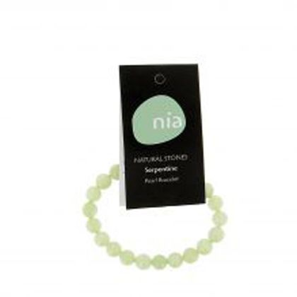 Bracelet Perle Serpentine