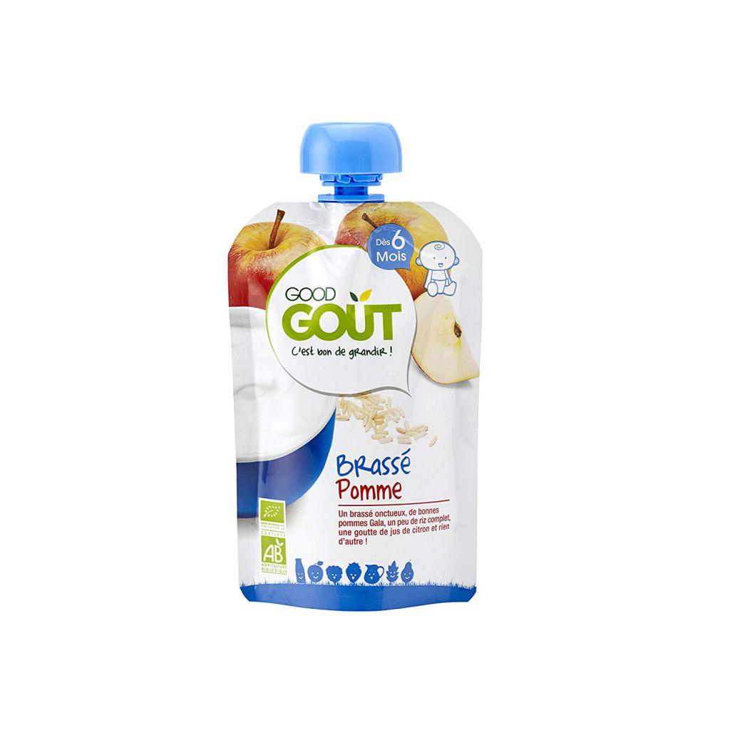 Brassé Pomme miel 90g dès 12 mois Good Gout