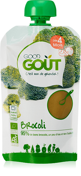 Broccoli 120g from 4 months Good Gout