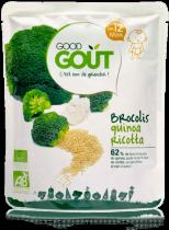 Brocolis quinoa ricotta dès 12 mois 220g Good Gout