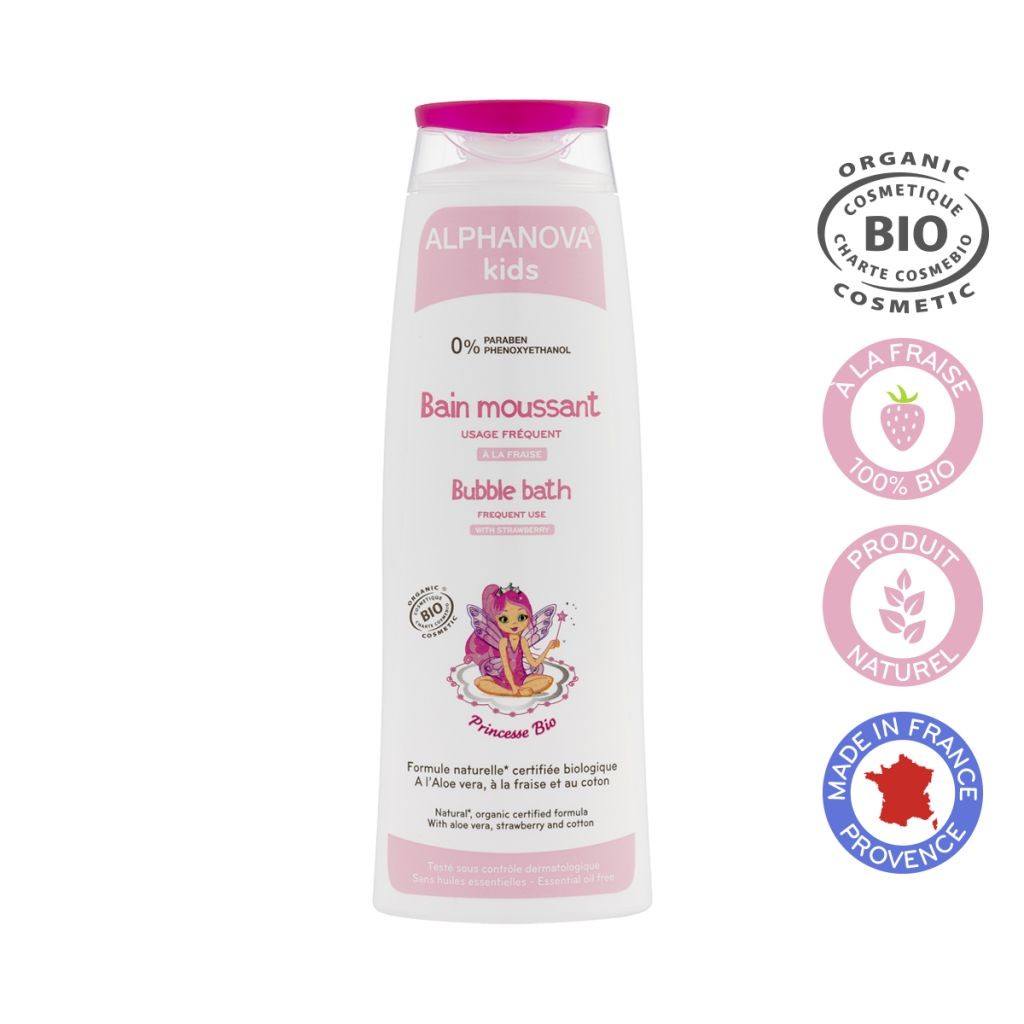 Bubble Bath Princesse Organic 250Ml Alphanova Kids