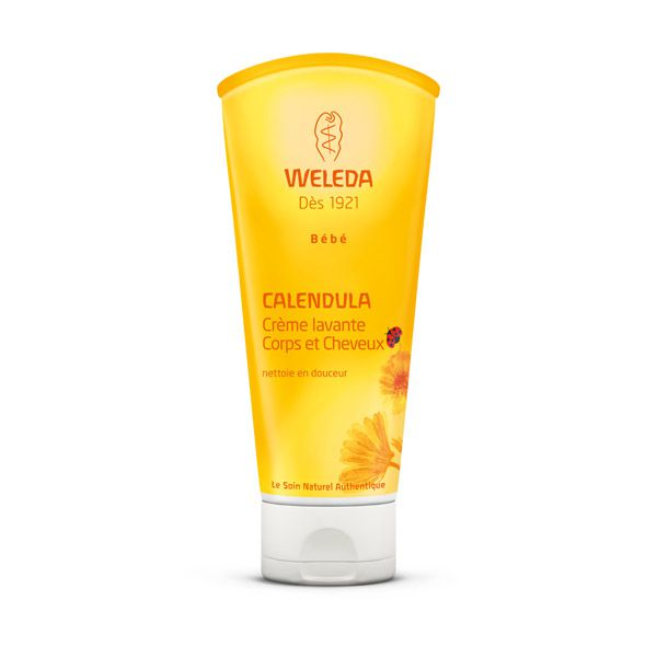 Calendula Shampoo And Body Wash 200Ml Weleda