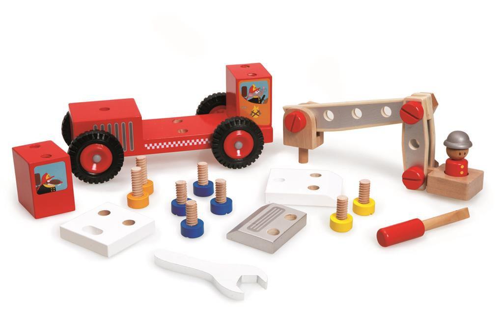 Camion Pompier à Construire Scratch