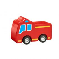 Camion Pompiers Bois Massif Lanka Kade