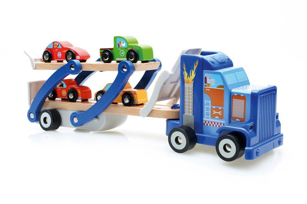 Camion remorque Bois Scratch