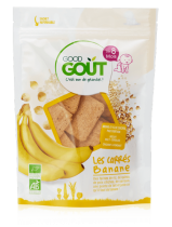 Carrés Banane 50g dès 8 mois Good Gout