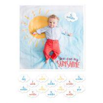 Cartes Souvenir + Maxi Lange You are my sunshine Lulujo