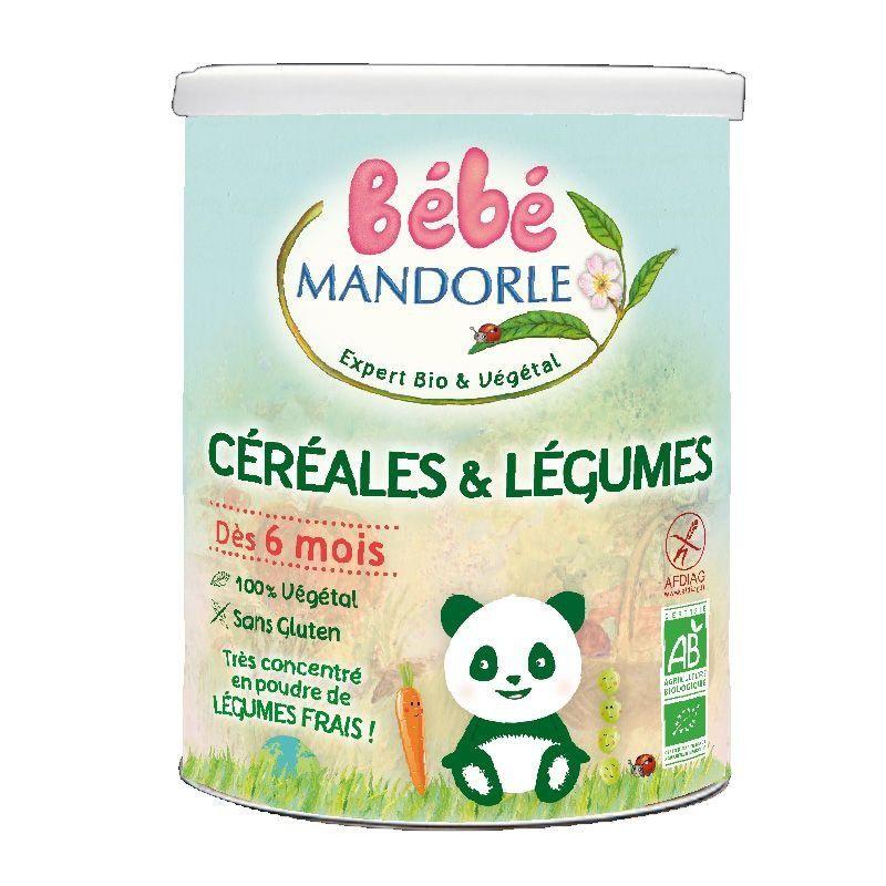 Céréales & Légumes 400g Bébé Mandorle