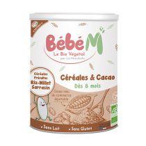 Céréales Cacao 400g Bébé Mandorle